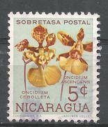 Nicaragua 1962. Scott #RA75 (U) Oncidium Cebolleta And Ascendens, Flower, Orchid - Nicaragua