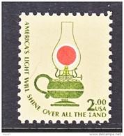 US  1611   **  OIL   LAMP - United States