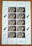 SALE!!! Eslovenia Slovenia Slovenie Slowenien 2005 Minerals Sheetlet Of 10 Stamps MiNr509 MNH ** - Slovenia