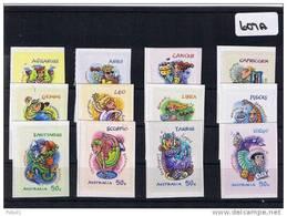Australia 2007 Zodiac 12 Values S/A MUH   607A - Mint Stamps