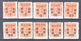 CHINA  J 110-19    * - China