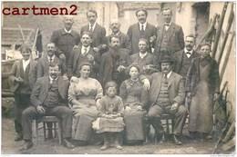 LOT DE 23 CARTE PHOTO : LE CREUSOT MILITAIRE CONSCRIT FEMME MARIAGE COUPLE OUVRIERS 1917 - Le Creusot
