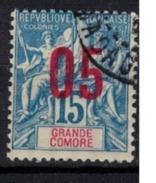 GRANDE COMORE   N°  YVERT   22   ( 2 )     OBLITERE       ( O   2/35 ) - Usati