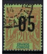 GRANDE COMORE   N°  YVERT   23  ( 1 )      OBLITERE       ( O   2/35 ) - Usati