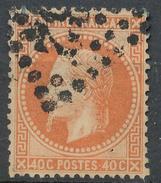 N°31 VARIETE ET OBLITERATION. - 1863-1870 Napoléon III Lauré