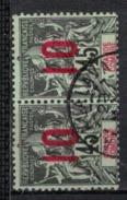 GRANDE COMORE   N°  YVERT   27  X 2          OBLITERE       ( O   2/36 ) - Grande Comore (1897-1912)