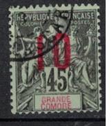 GRANDE COMORE   N°  YVERT   27   ( 5 )         OBLITERE       ( O   2/36 ) - Usati