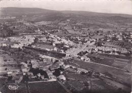 Quissac - Vue Panoramique Aérienne - Circulé 1954 - Quissac