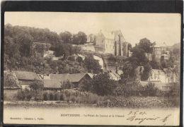 80150 . MONTDIDIER . LE PALAIS DE JUSTICE ET LE PRIEURE . (recto/verso)  ANNEE  1907 . LIB. L. VALLEE - Montdidier