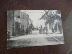 CPA 13 Bouches Du Rhône La  Fare Grand'rue TBE - Frankrijk