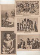 MISSIONS De CEYLAN  - Missionnaires Oblats - Série VIII -  Enfants - Lot De 10 CPA - Misiones
