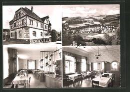 """AK Poppenhausen A. Wasserkuppe, Gasthaus- & Pension """"Zum Adler"""" - Sin Clasificación"""