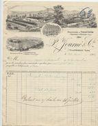 Rabodeau,Moussey,Villefranche Sur Saône, Journé,Manufactures Tissus, Coton, Textiles,1906 - Textile & Vestimentaire