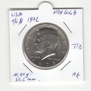 USA. Half Dollar, 1/2 $ 1972. KM #202b. TTB - Federal Issues