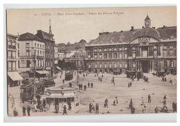 BELGIQUE -- PLACE ST LAMBERT -- PALAIS DES PRINCES EVEQUES -- NON CIRCULEE -- - Liege