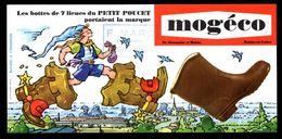 """Buvard """"Mogéco"""", St Germain Sur Moine, Maine Et Loire, Les Bottes De 7 Lieues Du Petit Poucet - Shoes"""