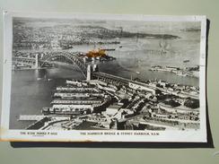 AUSTRALIE AUSTRALIA NEW SOUTH WALES THE HARBOUR BRIDGE & SYDNEY HARBOUR - Sydney