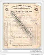 63 97 CHIGNAT PUY DOME Produit Agricole D Auvergne DELORME Et  MONDANEL 1931 Pomme De Terre Aulx Choux - Alimentaire