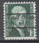 USA Precancel Vorausentwertung Preo, Locals New York, Valley Stream 843 - Vereinigte Staaten