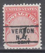 USA Precancel Vorausentwertung Preo, Locals New York, Vernon 729 - Vereinigte Staaten