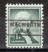 USA Precancel Vorausentwertung Preo, Locals New York, Walworth 743 - Vereinigte Staaten