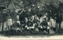 CHASSEUR ALPIN(FRONTIERE) - Customs