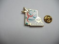 Beau Pin's , Assurance Mutuelle , AGF Assurances , Surya Bonaly , Patinage Artistique - Skating (Figure)