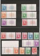 NOUVELLE CALÉDONIE Série Courante Le Cagou Années 1985/90 N°Y/T : 491/497-522-559-568/572-587/588** Côte: 15,45 € - Nouvelle-Calédonie
