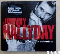 Hallyday CD Transparent Digipack Limité Un Jour Viendra 1999. 2 Titres - Collector's Editions