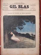 GIL BLAS N°26 (26 Juin 1896) Fleurs De Tilleul Par René Maizeroy- Couverture De Steinlen - Livres, BD, Revues