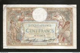 "FRANCE - BANQUE De FRANCE - 100 FRANCS ""LUC OLIVIER MERSON"" (BS. 11 - 2 - 1937) - 1871-1952 Antichi Franchi Circolanti Nel XX Secolo"