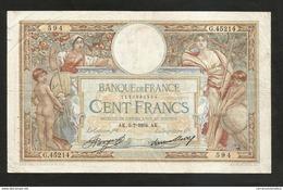 "FRANCE - BANQUE De FRANCE - 100 FRANCS ""LUC OLIVIER MERSON"" (AK. 5 - 7 - 1934) - 1871-1952 Antichi Franchi Circolanti Nel XX Secolo"