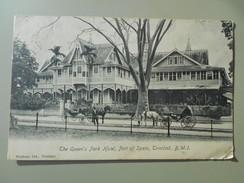 ANTILLES TRINIDAD B. W. I. THE QUEEN'S PARK HOTEL PORT OF SPAIN - Trinidad