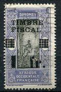 DAHOMEY TIMBRE FISCAL N°82 O - Dahomey (1899-1944)