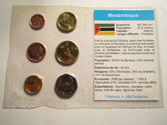 ---------------6-PIÈCES-SOUS-BLISTER--1-5-10-20-50-CENTAVOS-et-1-METICAL---neuf----MOZAMBIQUE----------- - Mozambique