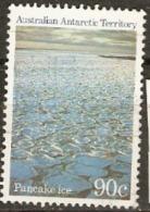 Australian Antarctica Territories  1984 SG 76  90c  Pancake Ice  Mounted Mint - Unused Stamps