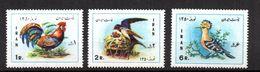 Serie Nº 1364/6 Iran - Birds