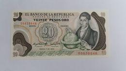 COLOMBIA 20 PESOS ORO 1983 - Colombie