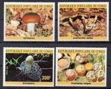 CONGO  Série De Timbres Neufs ** De 1985   ( Ref  4894 )  Champignon - Congo - Brazzaville
