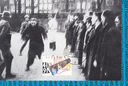 Netherlands Maximumcard - Februari Staking '41  NVPH 1465 - Cartes-Maximum (CM)