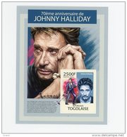 Hallyday Johnny-Togo-Bloc***MNH-Of Ficiel - Chanteurs