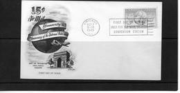 Etats-Unis  : Lettre De 1949 . - Poststempel