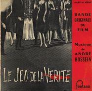 "B-O-F  André Hossein  ""  Le Jeu De La Vérité  "" - Filmmusik"