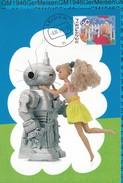 Netherlands Maximumcard - Kinder Zegels NVPH 1483 Barbie - Cartes-Maximum (CM)