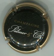 CAPSULE-CHAMPAGNE PALMER N°16 Noir Contour Or - Palmer