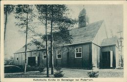 AK Sennelager Senne, Katholische Kirche, O 1916 (28075) - Duitsland