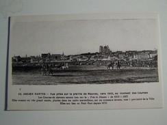 51  NANTES Ancien Vue Prise De La Prairie De Mauves Vers 1845 Au Moment Des Courses - Nantes