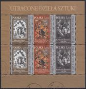 POLONIA 2009 Nº 4187/89 X 2 SERIES USADO EN BLOQUE - 1944-.... República