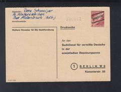 Alliierte Besetzung GSK Suchdienst SBZ Berlin - Bizone