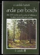 ANDAR PER BOSCHI Di CANDELA BETTELLI - EDIZ. IL CASTELLO 1976 - Natura